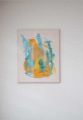 Oonagh Hurley artist acrylic on linen