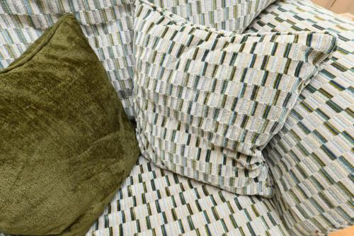 Scatter plain geometric cushion selection - Sinead Cassidy Design